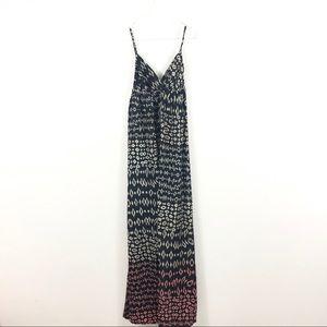 Gypsy 05 100% Silk Boho Printed Maxi Dress Tank